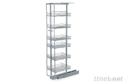 6 tier pull out larders