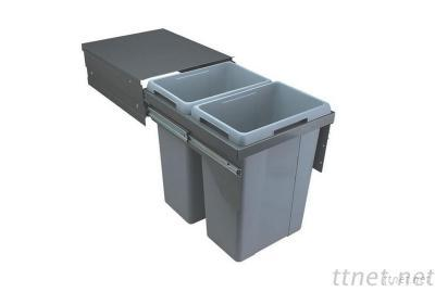 pull out storage bins
