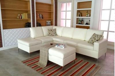 Sectional Sofa Set With Storage Ottoman