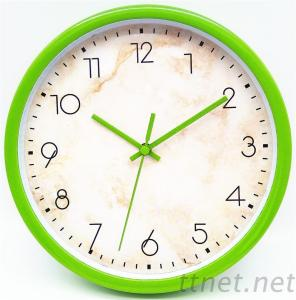 8 Inch Promotion Plastic Wall Clock Full Color Printing
