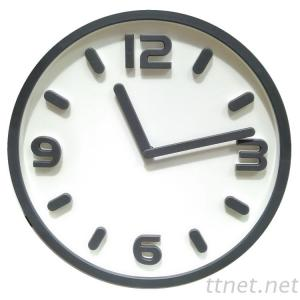 11 Inch New Design 3D Plastic Wall Clock For Living Room