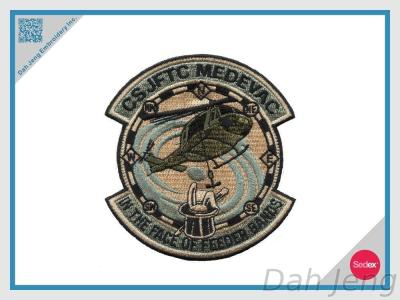 100% Military Embroidery Patches
