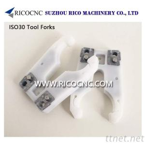 ISO30 Tool Holder Fork CNC Tool Grippers For CNC Machines