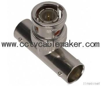 BNC T Type Adapter, BNC Connector, Coaxial Connector