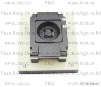 PLCC Test Socket, PLCC SUPERPIX SP0820 BGA Test Socket