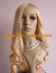 Fashionable Body Wave Blonde Hand Tied Mono Top Wig