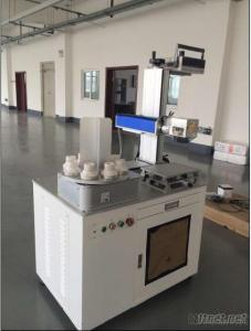 30W Fiber Laser Marking Machine For Hardware Tools, Molds, Wire And Cable