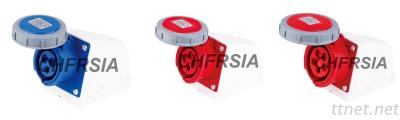 Water Proof Industrial Socket For Surface Mounting 3P 4P 5P