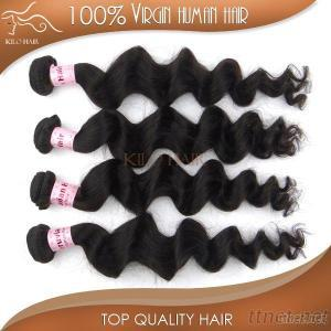 Unprocessed Malaysian Human Hair Wholesale Loose Curly Hair Extensions