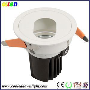 White 6W 10W 12W Dimmable Recessed Light Trim, LED Wall Washer