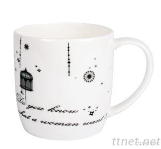 Porcelain Short Mug