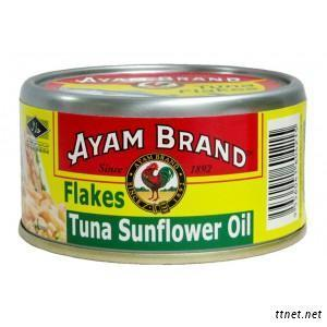 Ayam Brand Tuna In Sunflower Oil
