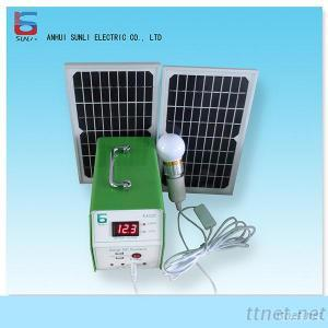 Off Grid Solar Generator, Chargers Lights