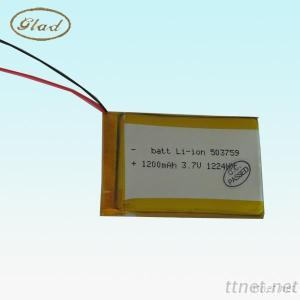 1200MAh 503759 3.7V Li-Ion Polymer Rechargeable Battery