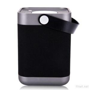 Outdoor Wireless Portable Power Bank Bluetooth Speaker With A Handle