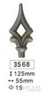 Wrought Iron Spear& Finials