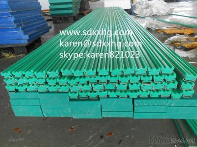 UHMWPE Plastic Chain Guide Rail