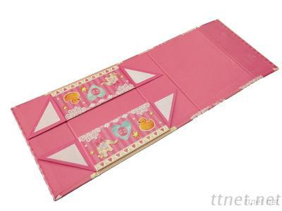 Printed Foldable Paper Box For Cloth