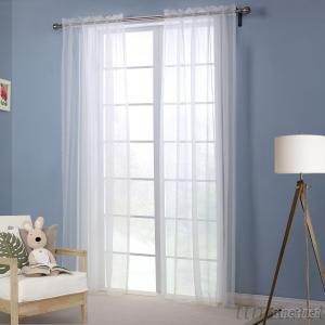 Sheer Modol Solid Curtain One Panel