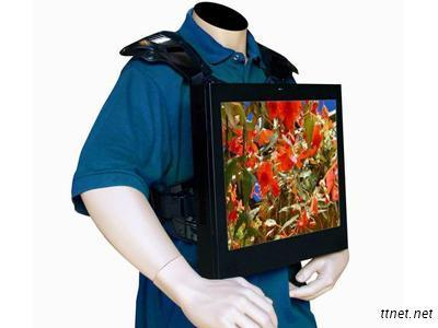 22Inch Backpack LCD Advertising Player