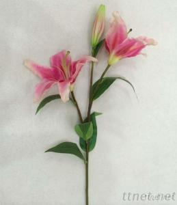 High Quality Artificial Lily Flowers, Decoration Flowers