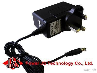 18w medical interchangeable plug ac adapter 9v 2a