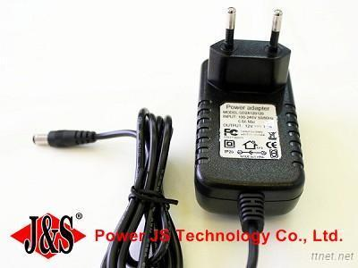 Wall Mount 12V 1.5A Ac Adapter