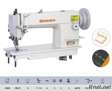 High-Speed Duty Top And Bottom Feed Lockstitch Sewing Machine