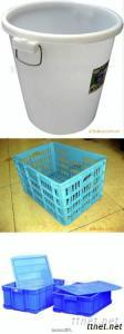Revolving Basket, Plastic Boxes, Ashcan , Injection Product