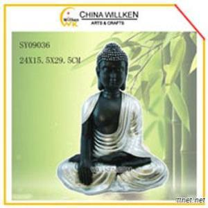 New Resin Buddha Statue For Indoor Home Decoration