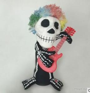 2017 Hot Selling Dancimg; Ing Halloween Skull Toy Halloween Gift