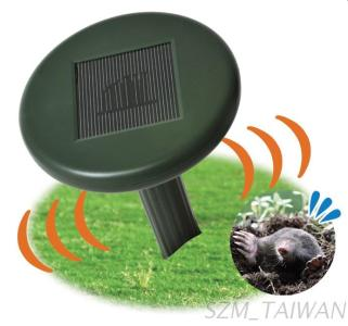 Solar Powered Mole Repeller with Plastic Tube