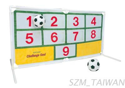 Soccer challenge, suitable for party or event game