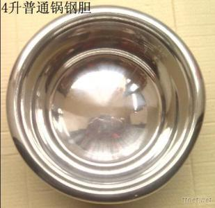 Multipurpose China Non-Stick Pot, Rice Cooker Parts, Stainlell Steel Ice Bucket 4L