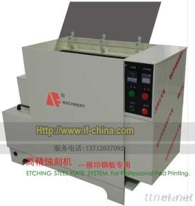 ETCHING STEEL PLATE Unit SYSTEM FOR PAD PRINTING