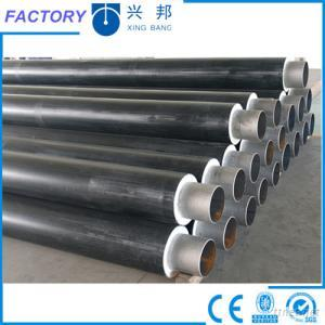 polyurethane form insulated underground thermal insulated steel pipeline for heating supply