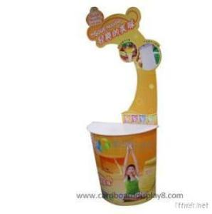 Corrugated Cardboard Stand Up Displays For Food