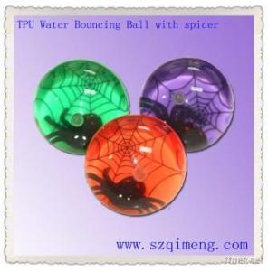 TPU Spider Water Bounce Ball