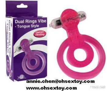 Jelly Vibrating Cock Ring For Man