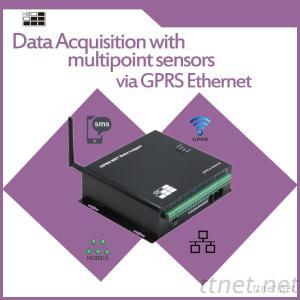 Multipoint Temperature GPRS NET Data Logger