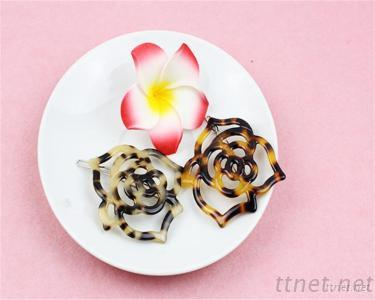 Newest Arrival Delicate Acetate Hair Clips For Girls