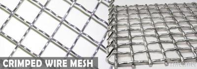 Stainless Steel Mining Sieving Crimped Wire Mesh