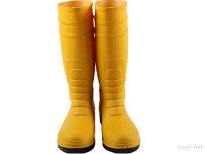 Steel Toe PVC Rain Boots As Requirements With Customer