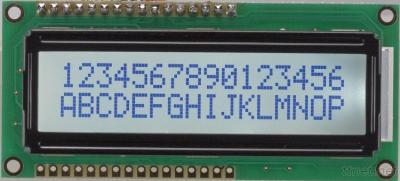 CHARACTER LCD MODULES JZC1602A1