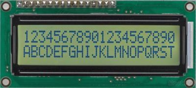CHARACTER LCD MODULES JZC2002D