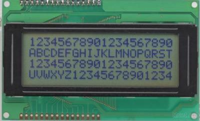 CHARACTER LCD MODULES JZC2004G
