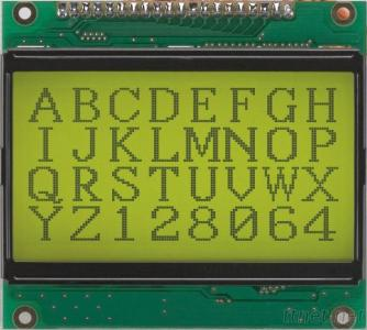 GRAPHIC LCD MODULES JZG12864G