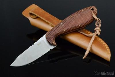 Fixed Blade Hunting Knives With Pakkawood Handle