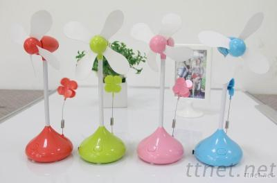 Flower Fan With Clip