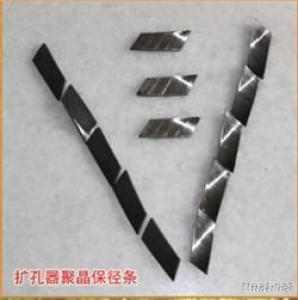 Polycrystalline Gage Protection Strips